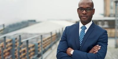 Professional man in suit